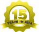 Years in Asia